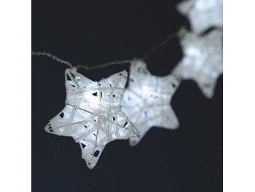 Guirlande lumineuse Etoile filante Blanc froid 10 LED