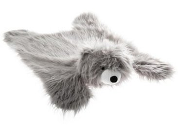 Tapis imitation fourrure (90 cm) Ours Gris