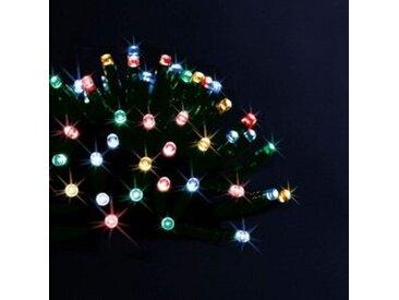 Guirlande lumineuse Solaire 20 m Multicouleur 200 LED