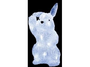 Lapin lumineux Croque-Carotte Blanc froid 20 LED
