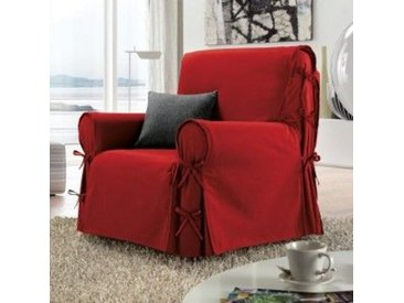 Housse de fauteuil Stella Rouge