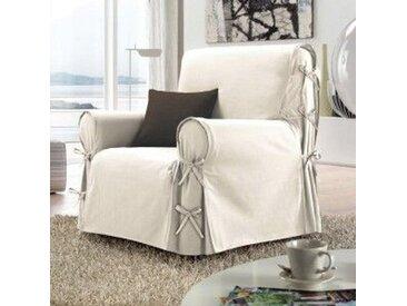 Housse de fauteuil Stella Beige naturel