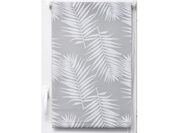 Store enrouleur tamisant (90 x 180 cm) Palmier Blanc