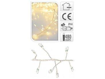 Guirlande lumineuse Micro LED 4,80 m Blanc chaud 480 LED CT