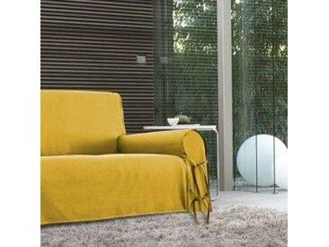 Housse de canapé 3 places Stella Jaune