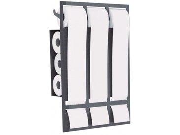 PATRIQ - porte papier toilette - Couleurs - gris