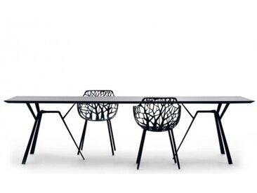 RADICE QUADRA - table 290 x 90 cm - Couleurs - noir