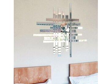 TRAFIC - miroir 91 x 103 cm - Couleurs - argent