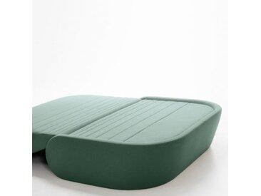 UP LIFT - canapé convertible 140 cm tissu Synergy - Couleurs - vert mousse