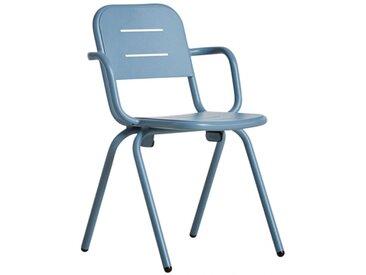 RAY - chaise avec accoudoirs - Couleurs - bleu ciel