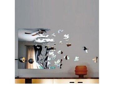 DISSOLVE FULL - miroir 180 x H98 cm - Couleurs - argent