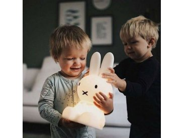 veilleuse, MIFFY FIRST LIGHT 30 cm - Couleurs - blanc