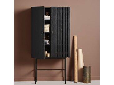 ARRAY - buffet haut 1m60 - Materiaux - teinté noir