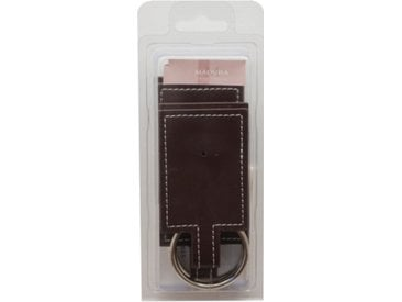 Strap anneau Winston brun, Taille Unique, PVC 100% (Anneau) Inox 100% - MADURA