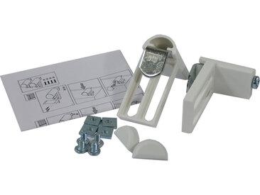 Support de store Stori blanc, écart 24 mm maxi, PVC 100% - MADURA