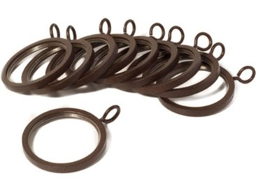 Anneau Alma brun, Ø2,9 cm, Métal 100% - MADURA