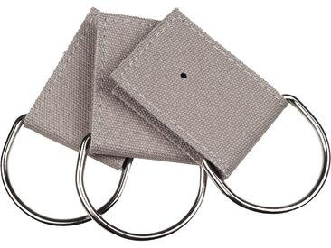 Strap demi-lune Pampa gris, Taille Unique, Coton 100% (Anneau) Inox 100% (Intérieur) Carton 100% - MADURA