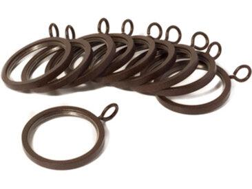 Anneau Alma brun, Ø1,9 cm, Métal 100% - MADURA