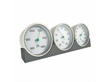 Magis Meteo - Station Météo - blanc/châssis gris/LxW 19 x 6,5cm/Humidity meters, Air pressure gauge
