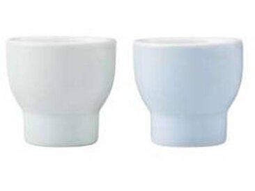 stelton Set de 2 coquetiers Emma - bleu/LxPxH 5x5x4,5cm