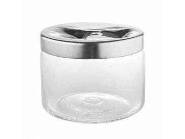 Alessi Carmeta - Boîte à biscuits - inox/brillant poli/H 15cm, Ø 19cm
