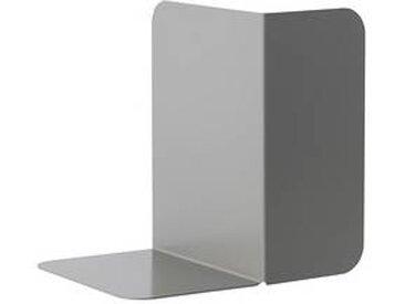 muuto Compile - Serre-livres - gris/peint par poudrage/LxPxH 20x15x19.5cm