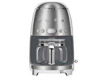 SMEG Machine à café DCF02 - chrome/laqué/LxHxP 25,6x36,1x24,5cm/pour 10 tasses