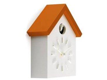 magis Cu-Clock - Coucou Horloge Murale - blanc/orange