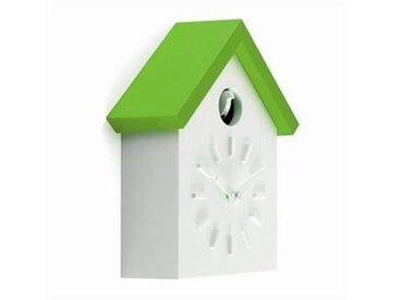 magis Cu-Clock - Coucou Horloge Murale - blanc/vert