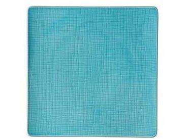 Rosenthal Mesh - Assiette 31x31cm - bleu aqua/brillant/micro-ondable