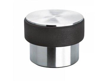 Blomus Stop - Butoir de porte 2 kg - noir/acier inoxydable/mat/H 7cm / Ø 9cm