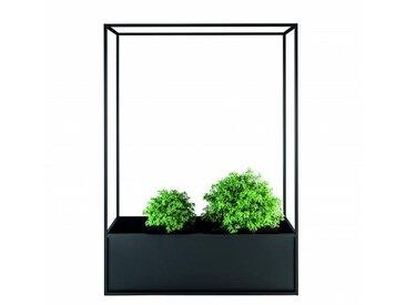 Röshults Bac à fleurs Planter Carl 1400 1 conteneur - anthracite/HxLxP 140x100x30cm