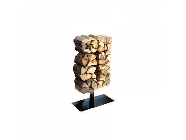 Radius Wooden Tree Range-bûches avec pied - noir/Taille 1/HxB:90.5x61cm