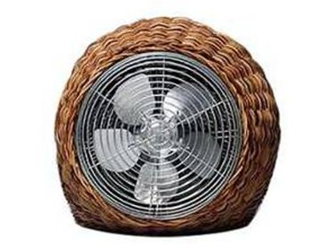 gervasoni Ventilateur de table Wind S - naturel/LxHxP 32x32x36cm/220 Volt / 5W