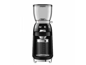 Smeg Moulin à café CGF01 - noir/laqué/3 degrés de broyage/8 programmes de meulage programmés