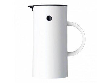 Stelton EM - Cafetière à piston - blanc/1L