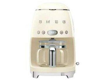 SMEG Machine à café DCF02 - crème/laqué/LxHxP 25,6x36,1x24,5cm/pour 10 tasses