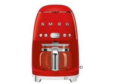 SMEG Machine à café DCF02 - rouge/laqué/LxHxP 25,6x36,1x24,5cm/pour 10 tasses