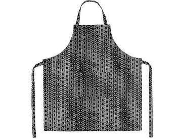 Artek H55 - Tablier de cuisine - gris/blanc/78x85cm