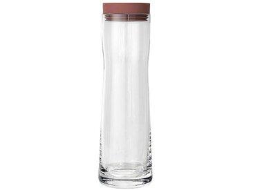 Blomus Splash - Carafe d'eau - rose fanée/H 29,5cm / Ø 9cm / 1 L