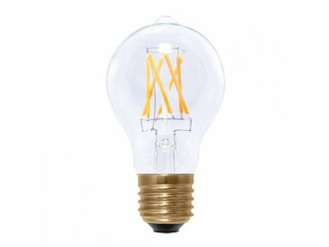 Segula LED E27 AMPOULE FILAMENT CLAIR 6W = 40W - Fin de série - transparent/2200K/470lm/dimmbar