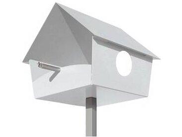radius Piep Show XXL - Nichoir - blanc/LxPxH 45x49x55cm