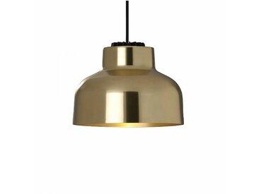 Santa & Cole Max Bill M64 LED - Lampe de suspension - laiton/poli/2700K