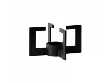 Menu Réchaud pour théière Cast - noir/revêtu par poudre/H: 7,6 cm / Ø: 14,6 cm