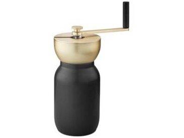 stelton Collar - Moulin à café avec couvercle - laiton/noir/H 19,5 cm