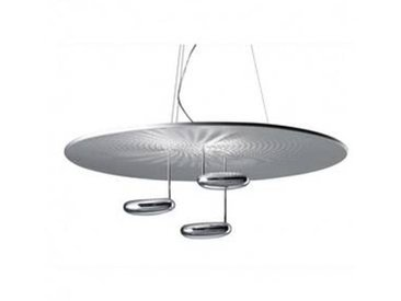 artemide Droplet Sospensione LED - Suspension - Fin de série - aluminium/poli/3000K/Ø100cm