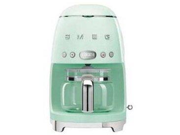 SMEG Machine à café DCF02 - vert pastel/laqué/LxHxP 25,6x36,1x24,5cm/pour 10 tasses