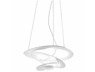 Artemide Pirce Micro LED - Suspension - blanc/LxPxH 48x46,5cm/2700K/2573lm/CRI=90