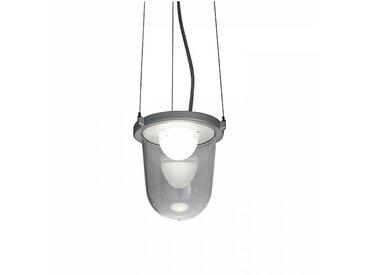 Artemide Tolomeo Lampione - Suspension LED d'extérieur - aluminium/poli/3000K/1865lm/CRI=80/H 16.1cm / Ø 14,6cm
