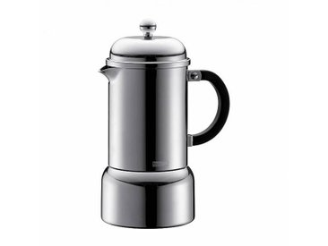 Bodum Cafetière expresso Chambord 0,35l - acier inoxydable/brillant/0,35l/6 tasses